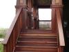 Gorgeous KAYU Batu stairs and railings.