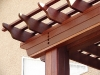 KAYU Batu has a rich mahogany color.