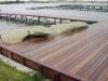 A dock made from KAYU Batu
