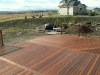 Brand new deck made with KAYU Batu