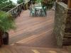 Deck and rails made with KAYU Batu.