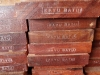 KAYU Batu is a durable imported hardwood.