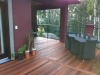 Beautiful deck made with KAYU Batu shorts