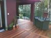 Beautiful deck made with KAYU Batu shorts