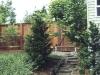 Fence made from KAYU Dark Red Meranti