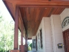 Mix of KAYU Batu Posts with KAYU Dark Red Meranti Bukit T&G