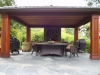 Covered Outdoor Living Area constructed with KAYU DRM