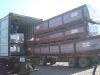Loading container of KAYU hardwood decking