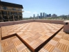 Business roof top -KAYU ®  Tropical Hardwood Deck Tiles
