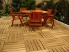 Family Patio - KAYU ®  Tropical Hardwood Deck Tiles