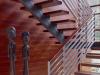 Staircase Inerior wall -KAYU Interior Hardwood Paneling™