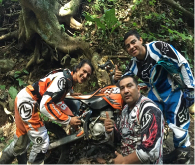 Javier Chaves Kayu Enduro and Motorcross Team Photo