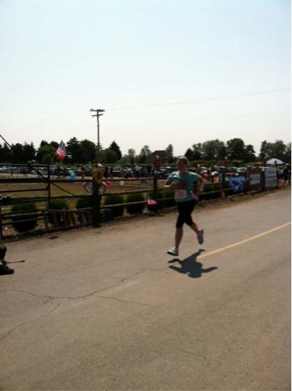 photo of Natalie Smith competing | Kayu Running Team