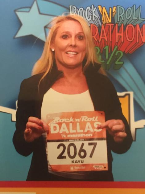 image of Robin Lynn Wilson post race celebration – Kayu Running Team