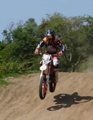 photo of Steve Wilson #131 in action - Kayu Enduro and Motorcross team