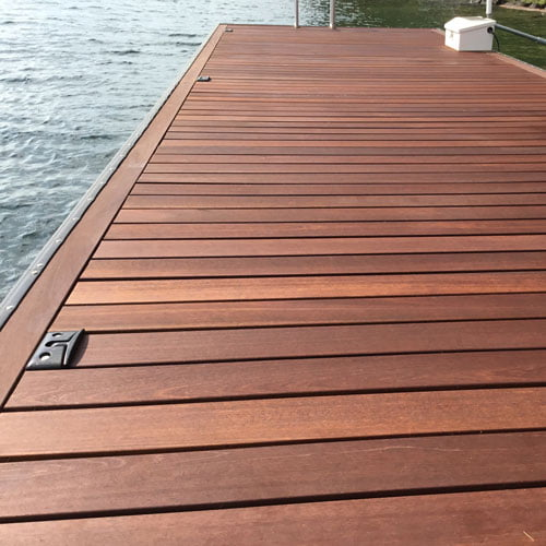 Kayu batu for Hardwood decking supply