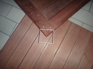 KAYU Batu Deck Tiles are easy to install