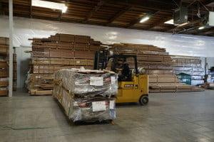 Waldo preparing shipments for our distributors