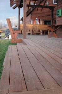 KAYU Batu Hardwood Deck
