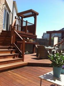 KAYU™ Hardwood Decking that makes you feel good