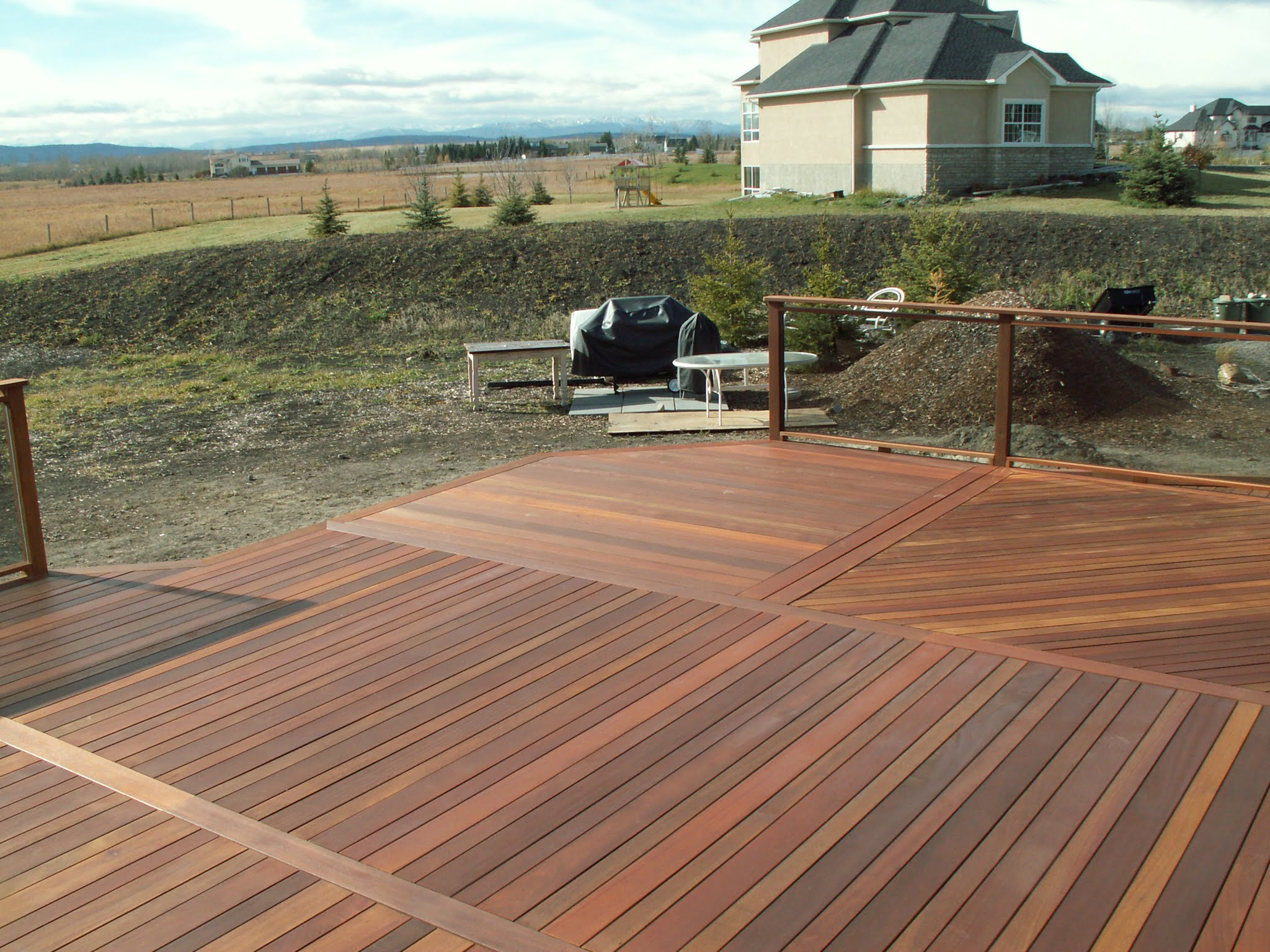 Batu the best choice in hardwood decking for Best timber for decking
