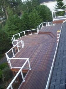 Mahogany decking, hardwood decking, dream deck