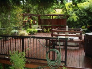 low maintenance decking