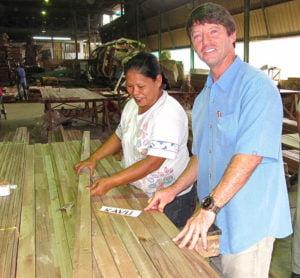 Steve Wilson at Supplier   Indonesia
