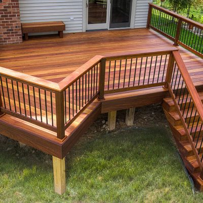 load deck mahogany