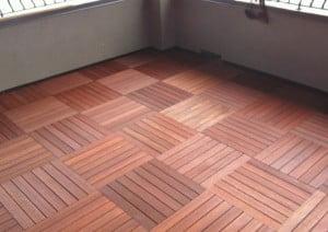 Batu Hardwood deck tile