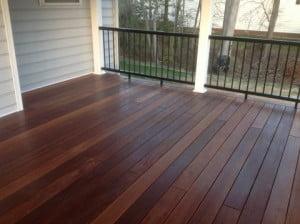 concealed fastener kayu batu deck