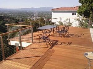 Yellow Balau Bangkirai hardwood decking
