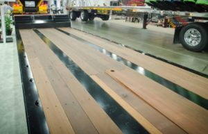 Trailer and Truck Hardwood Flooring