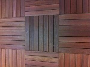 KAYU Batu Hardwood Deck Tiles