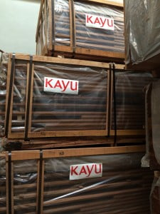 KAYU Keruing Truck and Trailer Decking