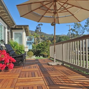 Deck Tiles - Mahogany