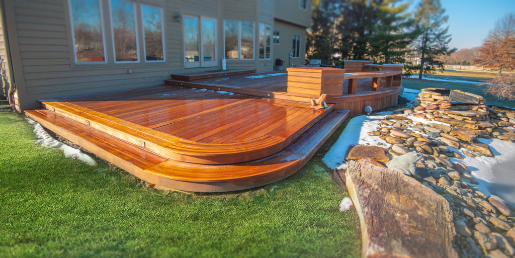 KAYU Batu Red Balau - Wood Decking - Timeless Elegance